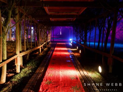 Outdoor Lighting Hire Cheshire, Marquee Exterior Lighting