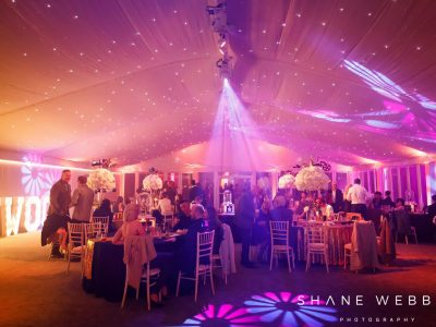 Marquee Lighting Hire Cheshire