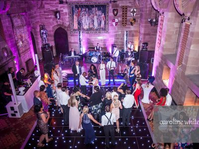 Black LED dancefloor Cheshire Manchester