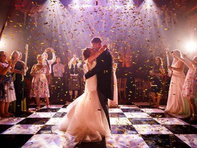 Black and White Dance Floor hire Cheshire