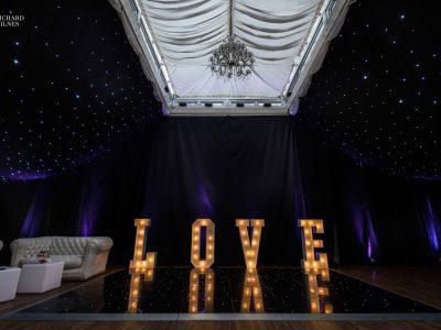 Draping Hire Cheshire Wrenbury Hall