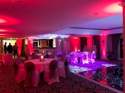 Wedding Lighting Cheshire Inglewood Manor