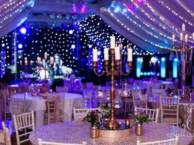 Evening Reception Lighting Wedding Lighting Cheshire