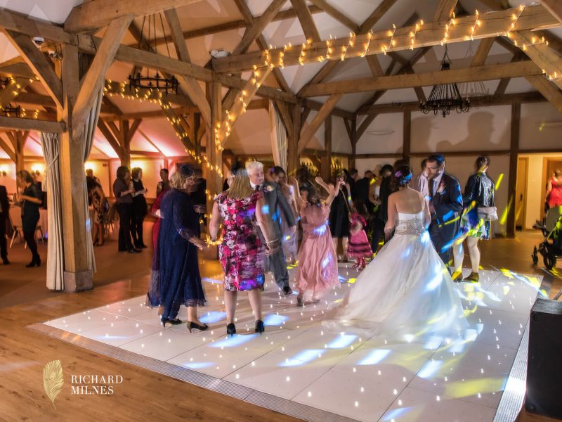 Sparkly Dance Floor Hire Cheshire