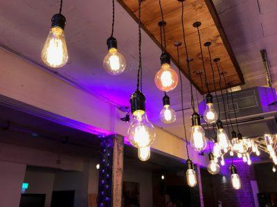 Festoon wedding lighting Cheshire