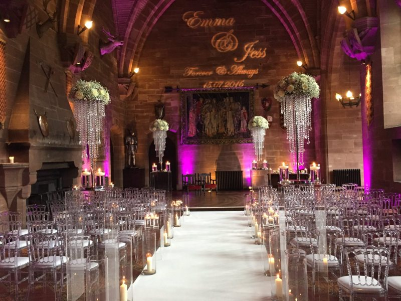 uplighting wedding cheshire