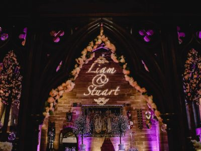 Gobo wedding Cheshire
