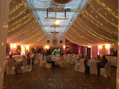 Wedding Lighting Hire Cheshire Pea lighting hire