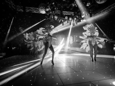 White LED Dance Floor hire Cheshire