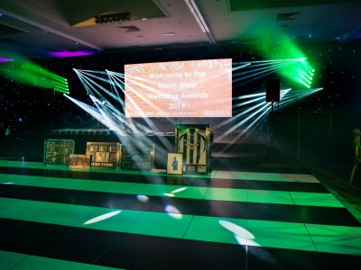 Lighting and staging hire Cheshire