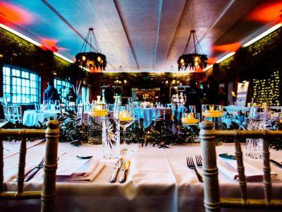 Wedding lighting Larkspur Lodge Cheshire