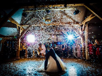 Wedding Lighting Hire Cheshire Mirror Ball Hire