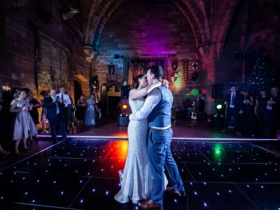 Black LED Dance Floor hire Cheshire