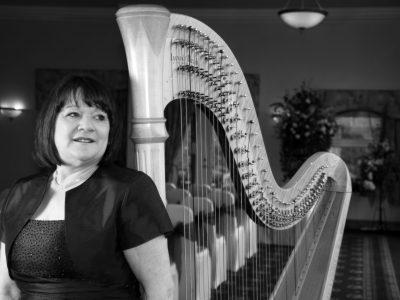 Harpist wedding Cheshire
