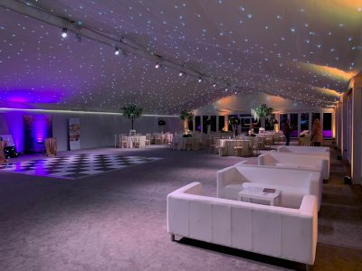 Dance Floor & Lighting Hire for Marquee's Cheshire