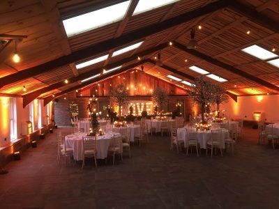 uplighting wedding cheshire