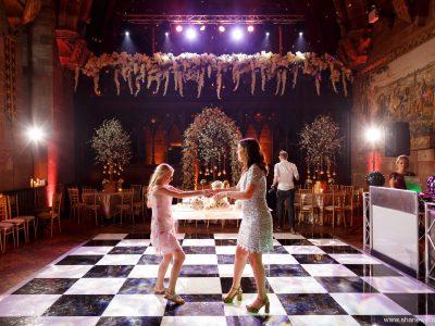 Black and white dancefloor Cheshire Manchester