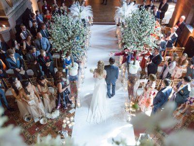 Peckforton castle wedding Cheshire