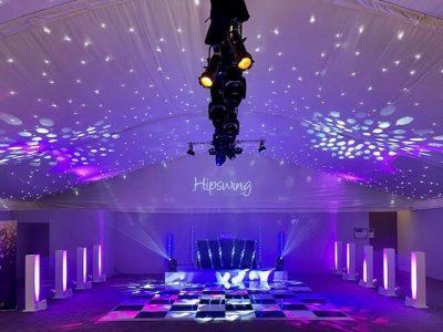 Dance Floor hire Cheshire Marquee Lighting Hire