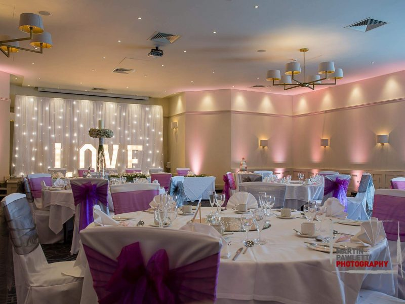 Pink Lighting Hire Cheshire LOVE letters Cheshire