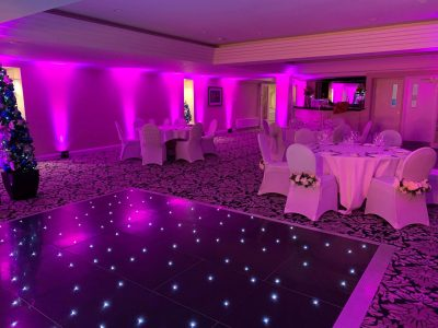 Wedding Lighting Inglewood Manor