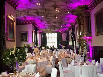 Wedding Lighting Cheshire Crewe Hall