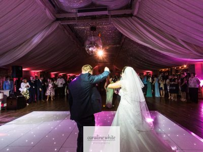 Mirror Ball Hire Cheshire with White LED Dance Floor Hire