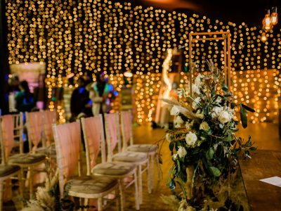 Fairy Light Back Drop Hire Cheshire
