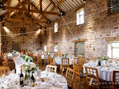 The Ashes-Barns- Fairy lights in East Barn