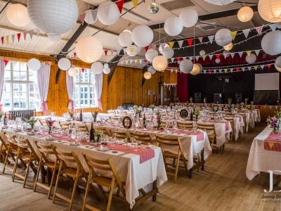 Paper lantern hire Cheshire wedding
