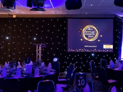 Conference hire Cheshire Award Show support